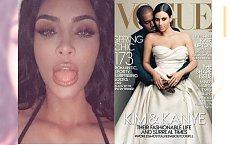"""Kim Kardashian pokazała niemal WSZYSTKO! Internauci zszokowani: Jakim cudem ona trafiła na okładkę """"Vogue'a""""?"""
