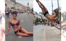 """Top Model: Sesja W SAMEJ BIELIŹNIE w centrum Warszawy. """"Trochę przypał. Reakcja ludzi bezcenna"""""""