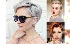 18 stylowych fryzur dla krótkich włosów - cięcia pixie, undercut i wiele innych