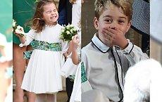 Księżniczka Charlotte walczy z wiatrem, a książę George został przyłapany przez kamery na bardzo BRZYDKIEJ czynności!