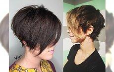 Krótkie fryzury z długą grzywką - modniejszego wariantu nie ma!