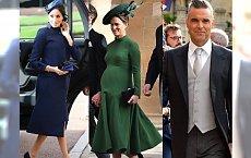 Arystokraci i plejada GWIAZD na ślubie księżniczki Eugenii! Kate i Pippa Middleton, Naomi Campbell czy może Cara Delevigne - która najlepiej się ubrała?