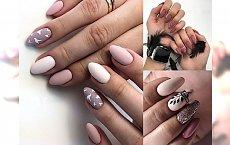 Różowy manicure w modnych odsłonach - galeria trendów