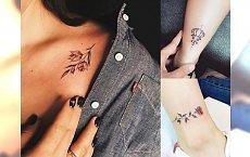Małe tatuaże - 25 dziewczęcych wzorów, które Cię urzekną