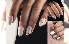 Jesienny nude manicure - 20 najpiękniejszych pomysłów na stylizacje paznokci