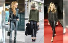 Moda 2018: Skórzane spodnie - jak je nosić? 6 gotowych zestawów