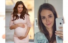 Anna Wendzikowska chwali się figurą tuż po narodzinach córki. Fani: Widać, że ledwo co to dziecko trzymasz