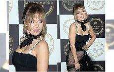 Doda w czarnej sukni Diora przyćmiła inne gwiazdy! Ale czy ta kurtka pasowała do eleganckiego tiulu?