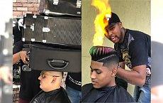 Brazylijski barber tworzy niezniszczalne fryzury. Można zrobić z nimi wszystko, a włosy ani drgną!