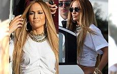 Na planie teledysku spodnie Jennifer Lopez ZSUWAJĄ się odsłaniając.... Zobaczcie sami!