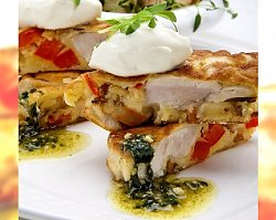 Przepisy kulinarne na Boże Narodzenie: racuszki z kurczaka