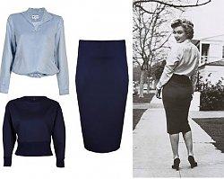 Moda w stylu lat 50-tych