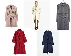 Szlafrokowe płaszcze na zimę 2015 - Mega trend sezonu