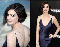 W koszuli nocnej na czerwony dywan. Anne Hathaway nie zachwyciła...