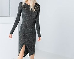 Ciepłe swetrowe sukienki do 300 zł