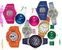 Fuzja kolorów - Wiosenne trendy zegarkowe