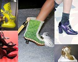 Tandeta, to mało powiedziane!!! Najbrzydsze, najbardziej dziwaczne buty, jakie kiedykolwiek wymyślono. O ZGROZO!