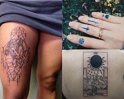Magiczne wzory tatuażu z motywem tarota - Tajemnicze, znaczące i zmysłowe propozycje
