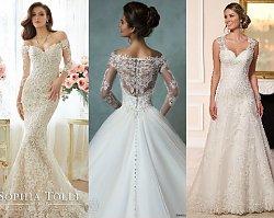 Koronkowe suknie ślubne z kolekcji 2016 - przeglądamy najpiękniejsze modele