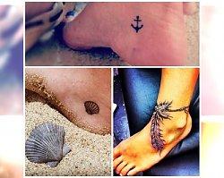 Wyjątkowe tatuaże na twoje stopy