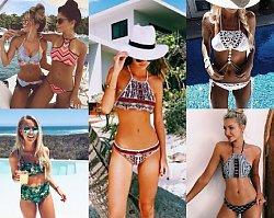 Dwuczęściowe kostiumy, na których widok zaniemówisz! TOP 16 najmodniejszych bikini