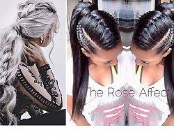 Braided ponytail - łączymy dwa sposoby upinania włosów
