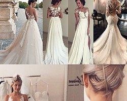 Koronkowe suknie ślubne - 25 niezwykłych propozycji dla Panien Młodych