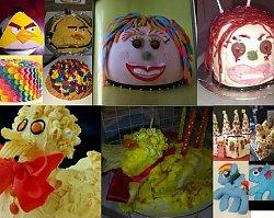 15 najbardziej nieudanych tortów z całego Internetu! Chcieli odwzorować przepisy z sieci, ale ponieśli kulinarną porażkę!