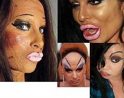 KOSZMAR! CZY ONE NIE MAJĄ LUSTRA? Najgorsze makijaże na świecie!