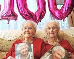 100-letnie bliźniaczki obchodzą wspólnie swoje setne urodziny i ujawniają sekret długiego życia! SĄ UROCZE!