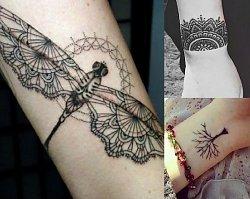 Inspiracje tatuażu na przedramię i nadgarstek - kobiece, charyzmatyczne motywy!