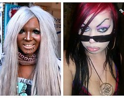 Najgorsze makijaże w sieci! Gdzie one mają lustro?