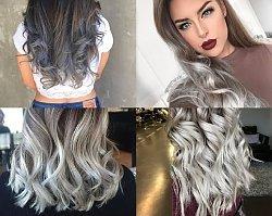 HOT TREND: Silver OMBRE wciąż ulubieńcem na Instagramie! Zobacz najpiękniejsze stylizacje włosów w tym kolorze