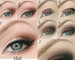 Prosty I Klasyczny Makijaż Otwierający Oko Idealny Dla Opadającej