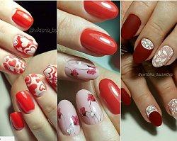 Paznokcie na walentynki: czerwony i różowy manicure w najmodniejszym wydaniu