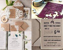 Zaproszenia ślubne - galeria najciekawszych i najpiękniejszych propozycji