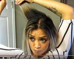 Jak wykonać fryzurę bob w domu? Ona zrobiła to prosto i genialnie. ZOBACZCIE!