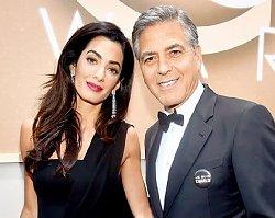 Amal Clooney urodziła! Znamy imiona bliźniąt. Są proste i bardzo szlachetne!