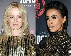 Impreza Playboya: Aleksandra Szwed i Joanna Majstrak w złotych sukienkach. Która lepiej?