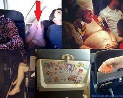 Co oni wyprawiają?! Oto 26 pasażerów samolotu, którzy rujnują podróż wszystkim wokół! Chyba powinni przerzucić się na napęd nożny!