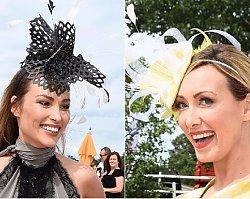 Anna Kalczyńska i Weronika Książkiewicz  w kapeluszach. Która lepiej?