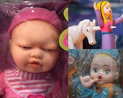 Tym mają się bawić dzieci?! Oto 11 mega dziwnych zabawek, które nigdy nie powinny powstać!