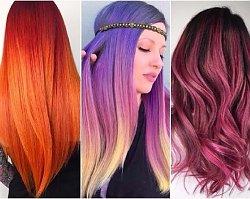 Modne kolory włosów dla wielbicielek wyrazistego efektu! 20 najlepszych inspiracji prosto z salonu