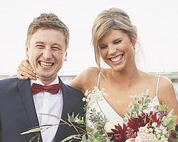 "Juror ""Top Chef"" wziął ślub! Suknia panny młodej skromna, ale urocza!"