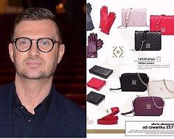 Maciej Zień zaprojektował kolekcję dla Biedronki! Stylowe skórzane torebki, paski, portfele i rękawiczki
