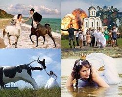 Te zdjęcia ślubne wołają o pomstę do nieba... Najdziwniejsze zdjęcia ślubne, jakie widzieliście!!