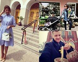 Gwiazdy obchodzą Wielkanoc! Lewandowska pokazała urocze zdjęcie córki, ale najlepsze jest przebranie wielkanocne Marceliny Zawadzkiej