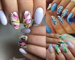 Blue nails 2018 – najpiękniejsze stylizacje paznokci na lato
