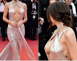 Tak na festiwal w Cannes ubrała się kochanka znanego gwiazdora! Hot or not?