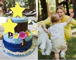 Zosia Ślotała wyprawiła 1. urodziny synka! Uwagę zwraca... figurka na torcie!